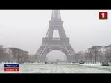 Европа во власти холодного фронта под ударом западная часть Старого Света