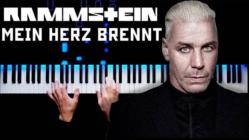 Rammstein - Mein Herz Brennt | Piano cover