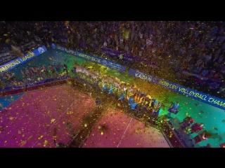 HIGHLIGHTS. Зенит-Казань - Кучине-Лубе Лига чемпионов 20172018. Мужчины. Матч за золото