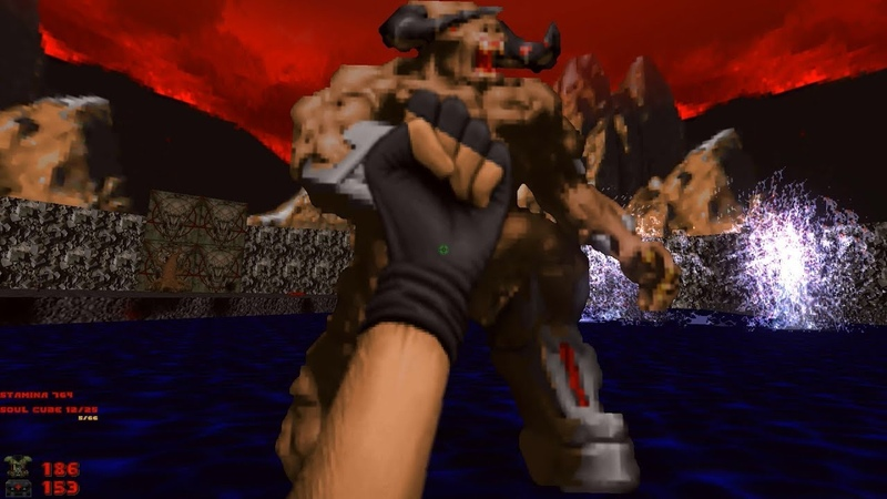 2002 A Doom Odyssey | E2M8: Total Disturbance [Brutal Doom: Black Edition v3.1d] » Freewka.com - Смотреть онлайн в хорощем качестве