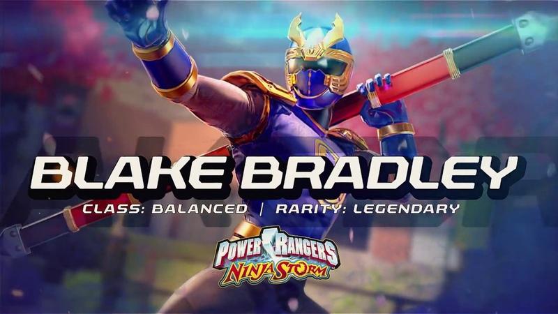 Power Rangers: Legacy Wars (Ninja Storm) Blake Bradley (Moveset)