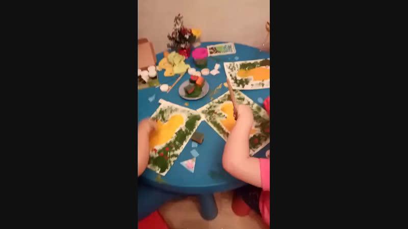 Занятия по изо и лепке для детей 3-6 дет