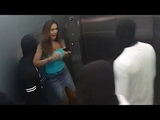 Trapped in Elevator with Mannequins Prank