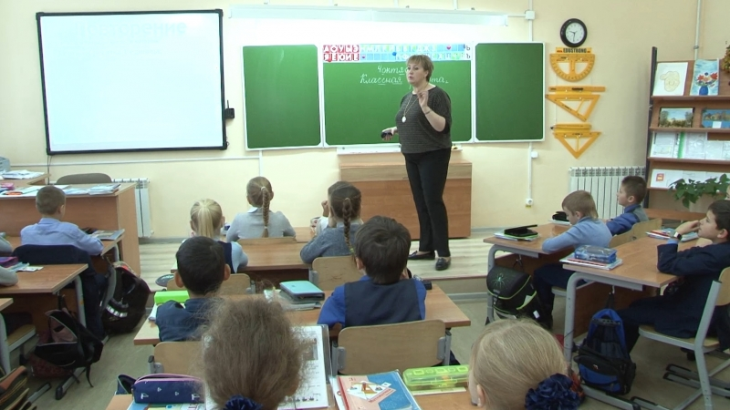Елена Никанова учитель начальных классов школы № 7