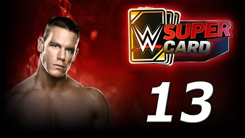 WWE SUPERCARD Карточные бои! №13 Android