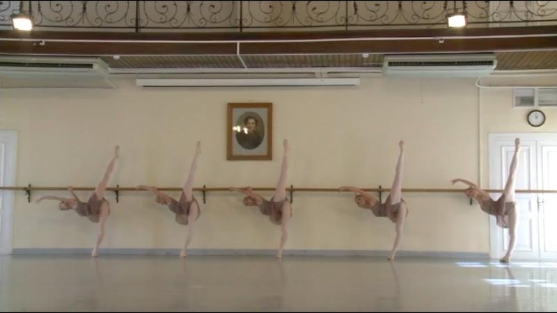 Vaganova Ballet Academy,Classical Exam 2015 8th grade