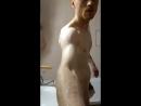 в ванной с дилдо