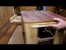 Простой фрезерный стол с простым лифтом-подъемником