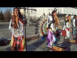 индейцы из группы Atipaj Runa из Эквадора (Южная Америка)
