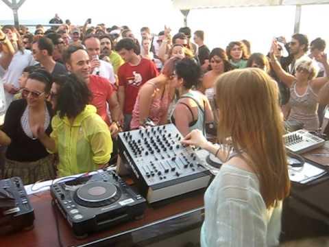 Ellen Allien @ BPITCH Boat BARCELONA 2010 House Classic Tune