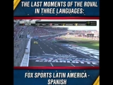 Relive the WILD ROVAL400 finish in Spanish, French and Polish.