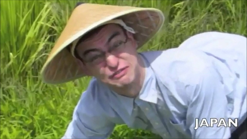 WELCOME TO THE RICE FIELDS MOTHERFUCKER