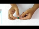 How to make Cotton Thread Beads for Necklace ¦¦ Simple and easy at home