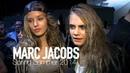 MARC JACOBS Spring 2014 Cara Delevingne, Georgia May Jagger Backstage | MODTV