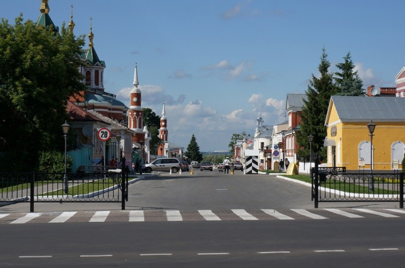 Достопримечательности Коломны: улица Лажечникова, Краеведческий музей и культурный центр «Лига»