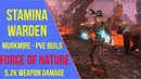 ESO Stamina Warden PVE Build Force of Nature Murkmire