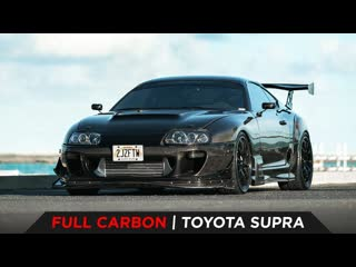 Full carbon toyota supra by toyo tires