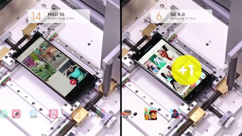Redmi Note 5 Pro vs Samsung J7 Duo: Top 30 Apps Launch Speed Comparison