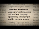 Jonathan Meades on Jargon review blisteringly brutal clever and hilarious