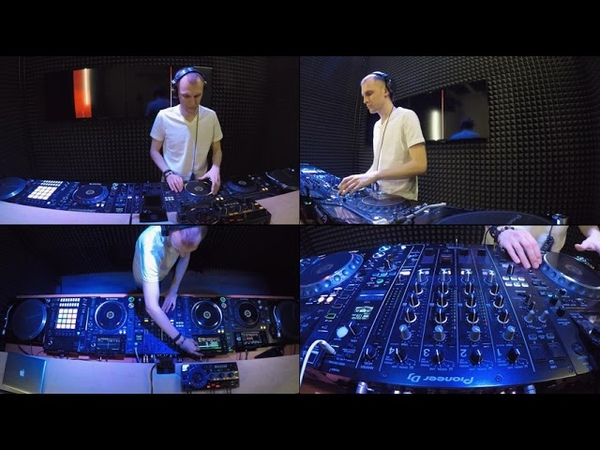 Dennis Frost Techno Podcast 13 Live on Pioneer Dj Tv Moscow