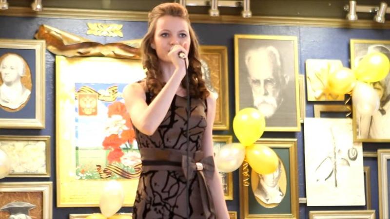 МГПИ конкурс военно-патриотической песни 2014 Верь мне на слово поёт Мария Хлупова