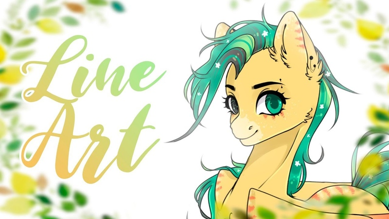 【 MLP Speedpaint 】 Flowering pony ADOPT Paint Tool SAI and Photoshop