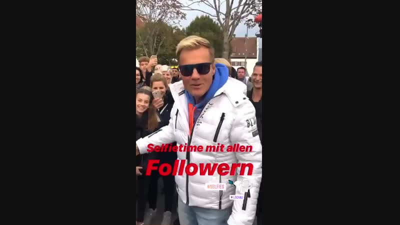 Истории • Instagram Дитер Болен в Лохау, 23.10.2018