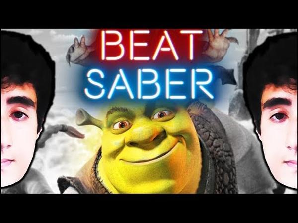 Entire shrek movie  [beat saber]