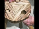 Фиксация ножек складного табурета svoimi rukami gif