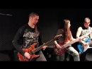 THE TROOPER - Iron Maiden cover by 11 year old Sara Motion Device