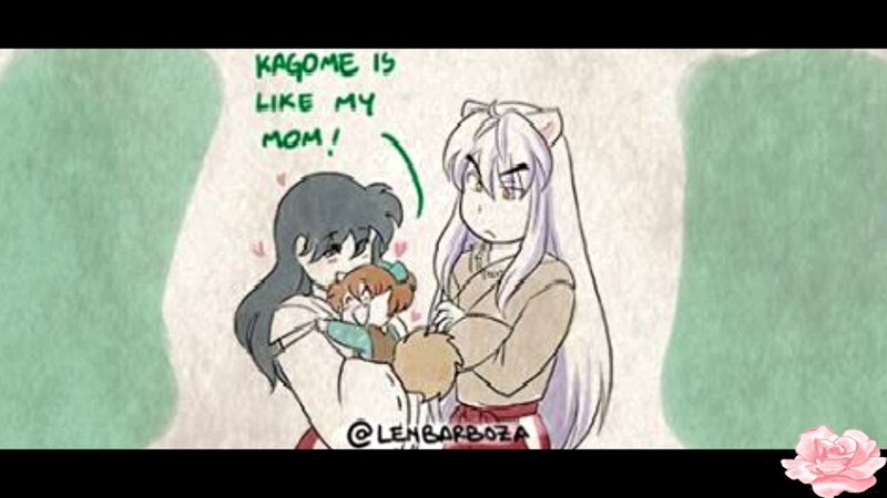 InuYasha Comic Dub Shippos New Mom Dad
