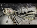 Abandoned underground military air base in Albania