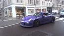 Porsche GT3RS Powerslides In London