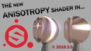 New Anisotropy Shader in Substance Painter!