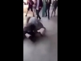 white girl beats up black boy