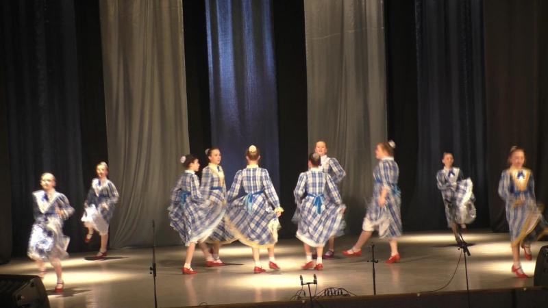 15 Американский танец Кантри средняя группа коллектива