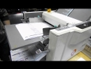 Сгибаем буклеты на автоматическом фальцовщике