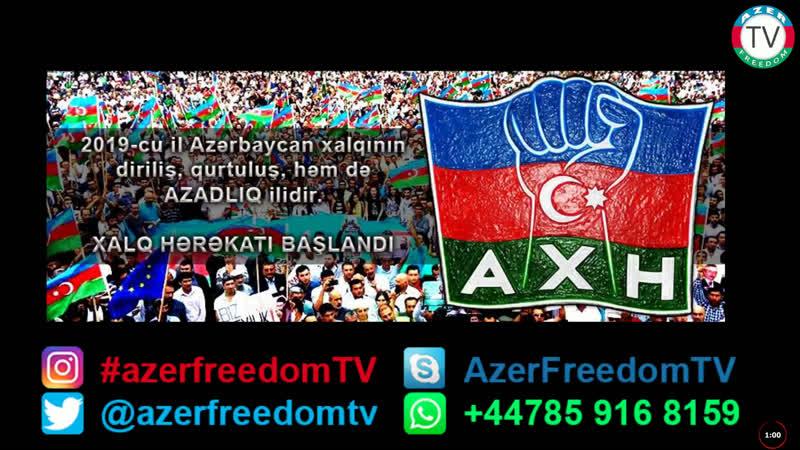 12.1.19: Azərbaycan Xalq Hərəkatı (AXH) dirçəlir... İsgəndər Həmidov, İsa Sadıqov və...