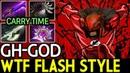 GH-God [Bloodseeker] WTF Real Flash Style 7.17 Dota 2