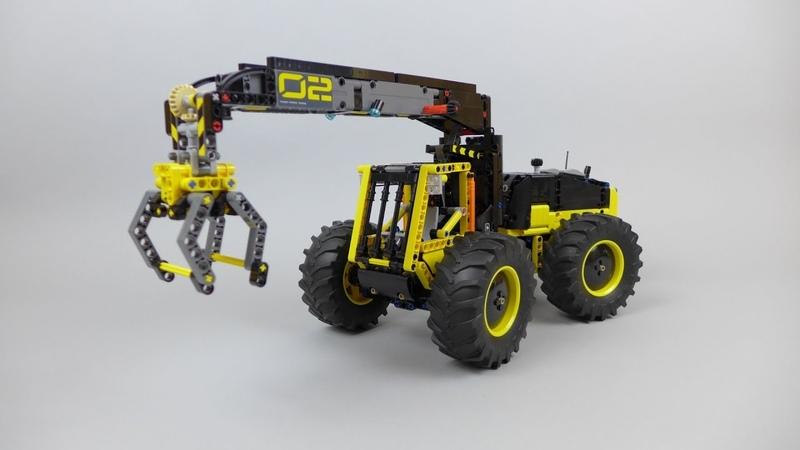 Log Loader - LEGO 42081 alternate model with instructions