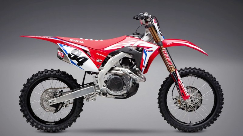 2019 CRF450R Works Edition Yoshimura Titanium Dual RS-9T Made in the USA