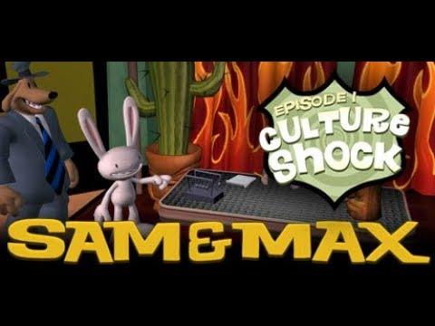 Игрофильм Sam Max Эпизод 1 Культурный шок