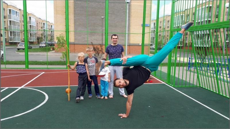 Открытая тренировка по КАПОЭЙРЕ в ЖК Царево Village.