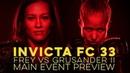 Invicta FC 33: Main Event Preview