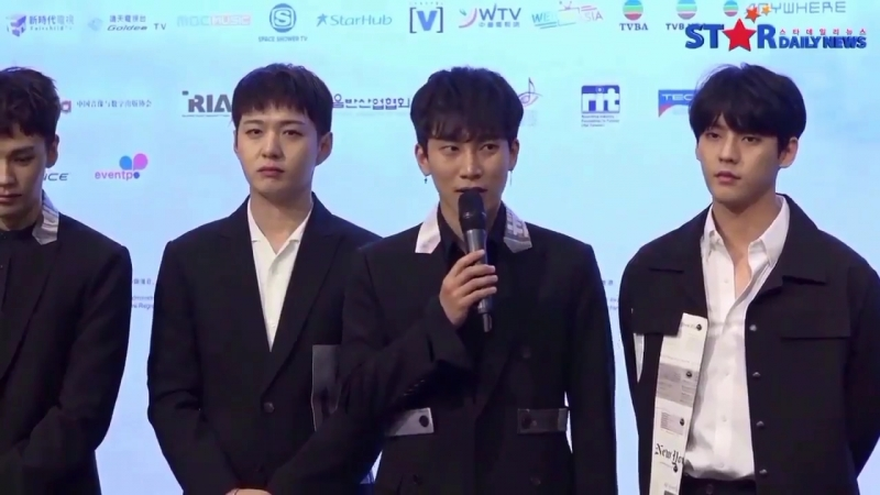 [PRESS] 22.03.2018: BTOB на HKAMF Press Conference @ Stardailynews