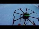 Тестовый полет геодезического октокоптера DJI A2, D1020 T15, Zenmuse Z15-A7