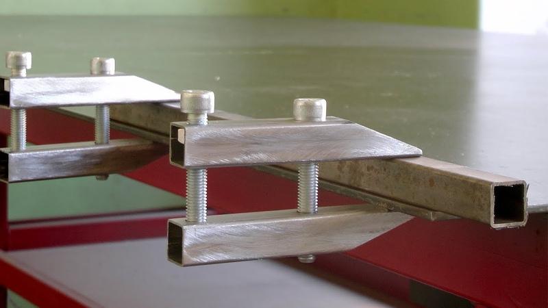 Самодельная струбцина - параллелька Handmade clamp DIY из ничего))