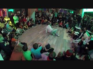 Коняева Анастасия - Отбор в 16 breaking kids 1x1 - Most Dance Battle 2018