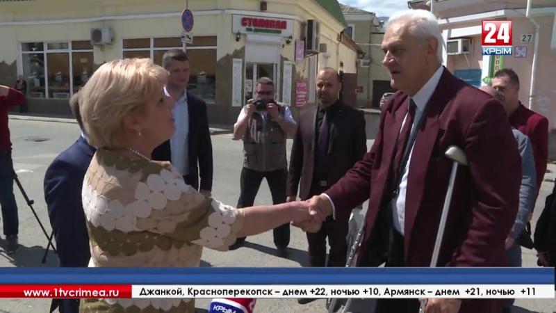 Представители администрации Алушты встретились с делегацией из Болгарии за круглым столом