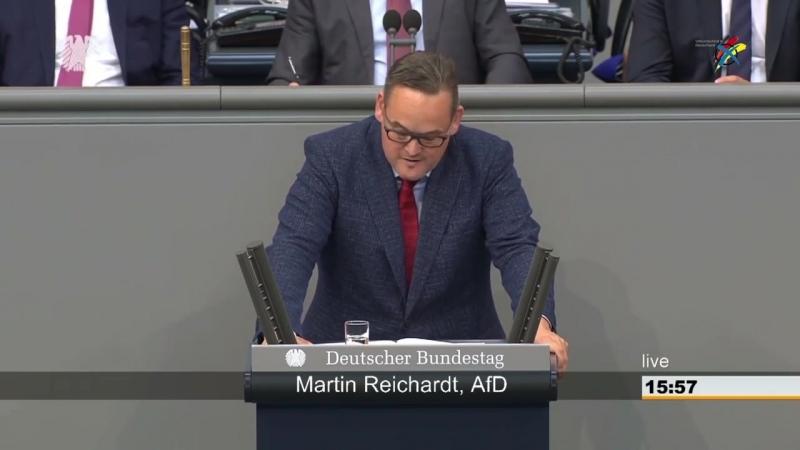 Knaller Rede Herr Martin Reichardt- die AfD steht zu Deutschland Kinder und Familie- weiter so-